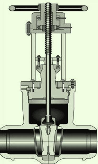 slide gate valve