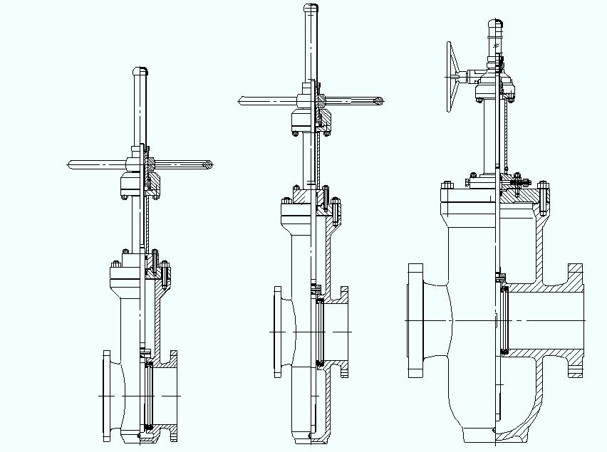 slide gate valves
