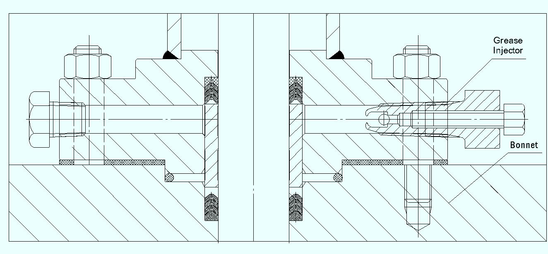slide gate valve triple seal protection