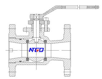 side entry ball valve