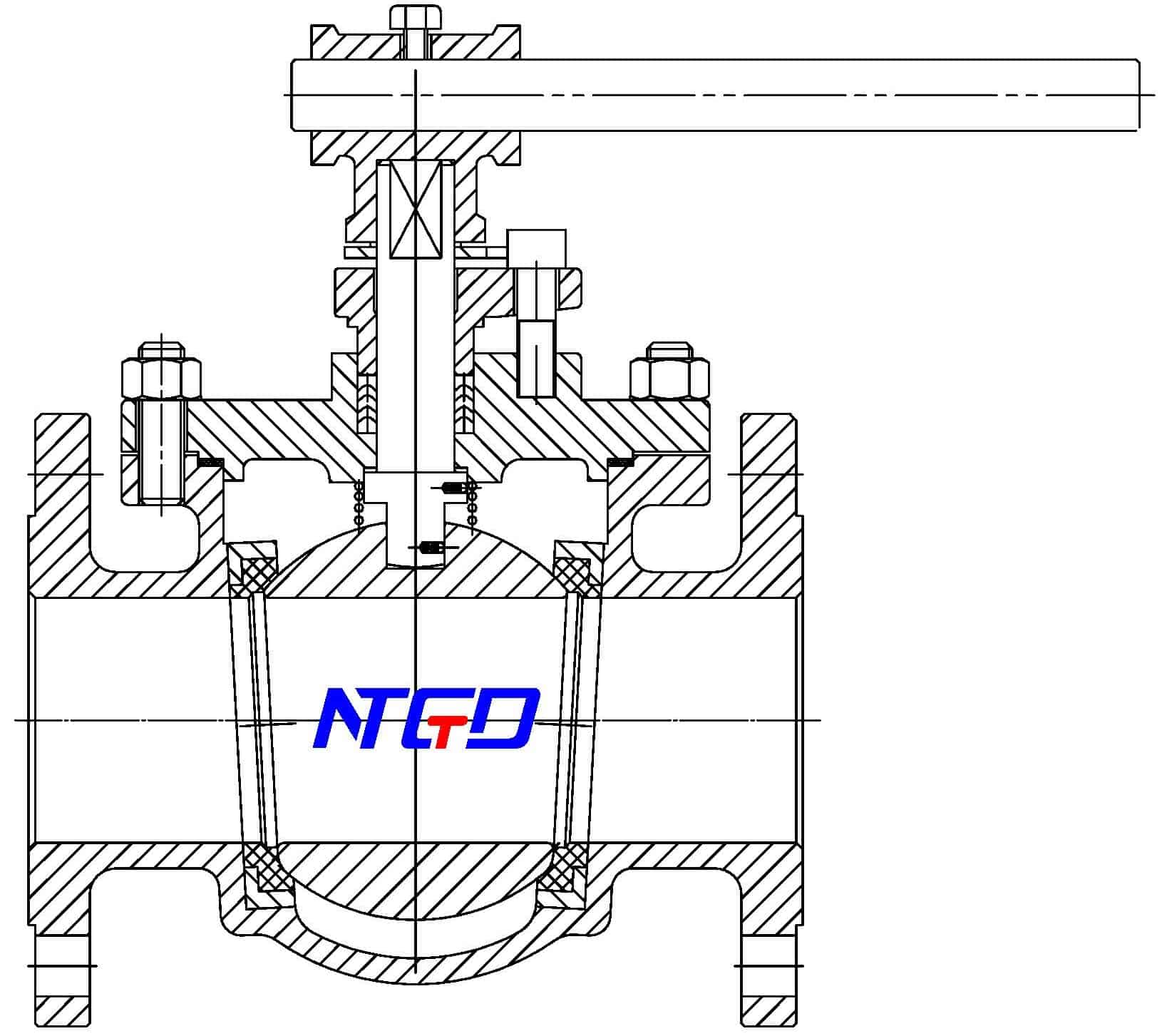 top entry floating ball valve